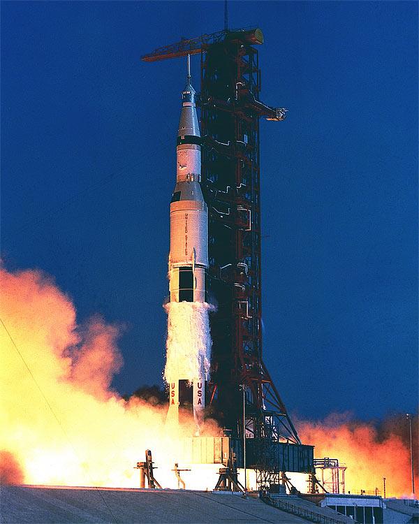 Partenza del Saturn V