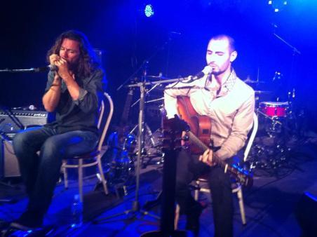 Francesco Renna and Mike de Velta live at The Perth Blues Club