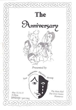 This famous English play was the last Frances directed for New Endeavour before she started her group, Northern Youth Theater