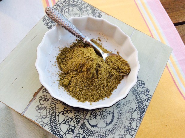 green clay for a hair mask diy recipe