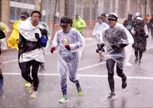 la mujer en el maratón 1