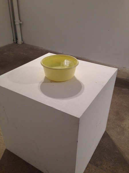 Float on White Cube, 2014. Mixed media, varies in sizes