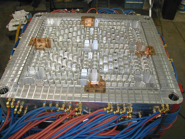 Plastic Injection Molds, Low Pressure Injection Mold
