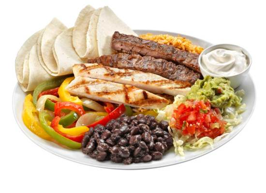 california tortilla mexican food franchise platter