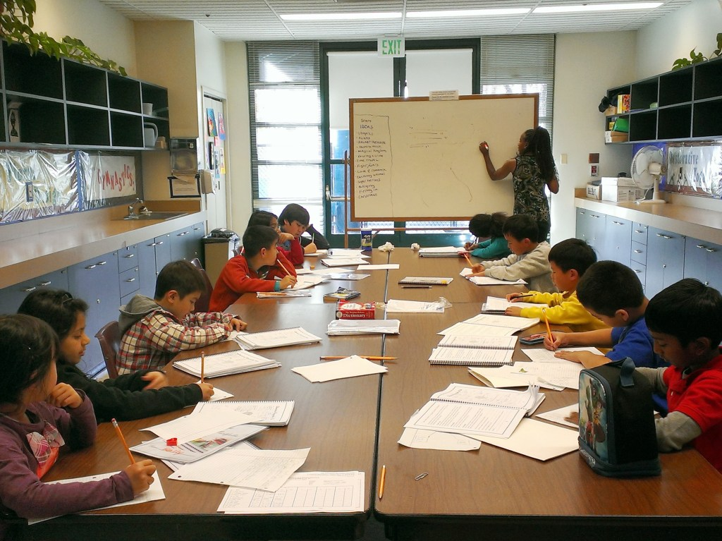 teaching young writers
