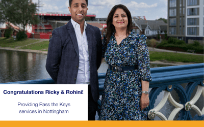 Pass the Keys launches in Nottingham – Welcome Ricky & Rohini!