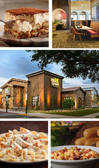 Olive Garden photo gallery 2. Olive Garden International Franchising and US Airport Franchising opportunities are now available.