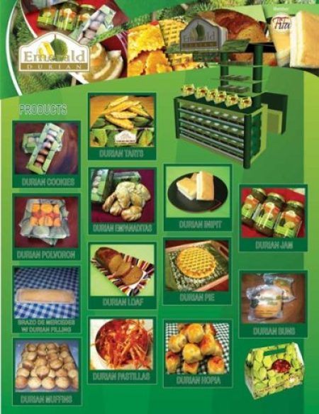 emerald durian products