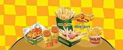 potato corner products
