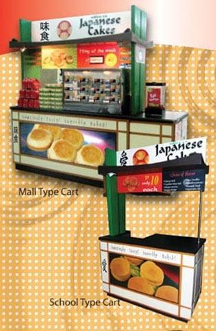 japanese-cakes-cart