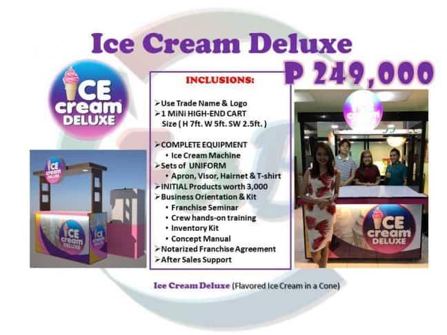 ice cream deluxe logo