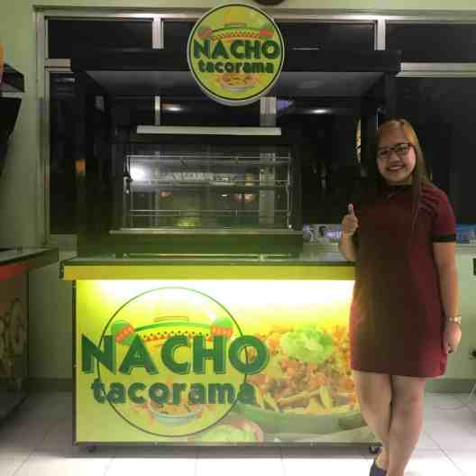 nacho tacorama food cart franchise