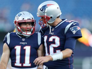 Julian Edelman Tom Brady
