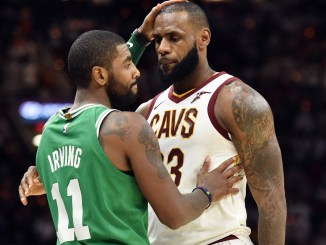 Kyrie Irving LeBron James