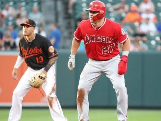 Mike Trout Manny Machado