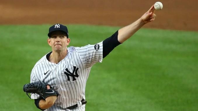 James Paxton throws