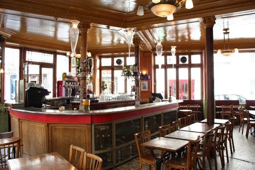 El interior del Pure Café