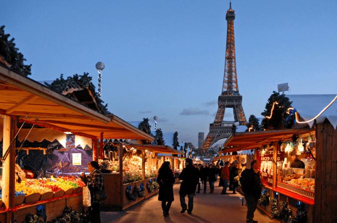 Los mercados navideños más hermosos de París