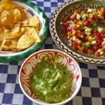 Quacomole, tortillachips en een frisse salsa