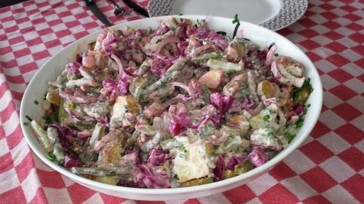 Bietjessalade met opperdoezer ronde
