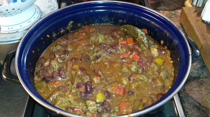 Chili con carne met stoofvlees