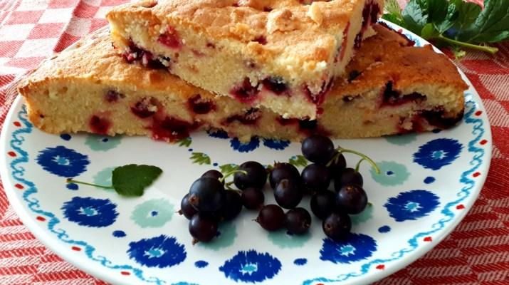 Cake met Josta bessen