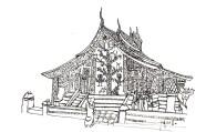 Temple Luang Prabang 1