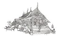 Temple Luang Prabang 2