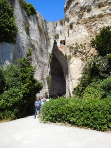 Cave named 'Ear of the King'