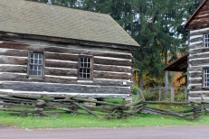 Log Cabin in Spruce Forest