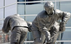 Mario Lemieux Statue in Pittsburgh, PA
