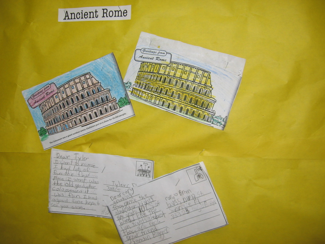 Postcard Activity