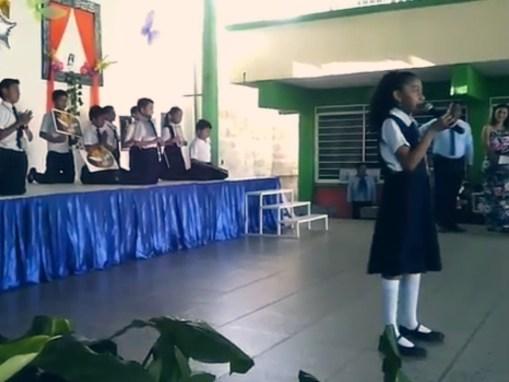 Evento en el Colegio Juan Pablo II