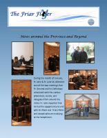 Friar Flyer – February 2016 Edition