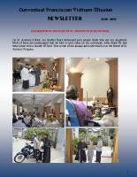 Vietnam Mission – Newsletters June 2017