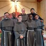 Our Newly Professed Friars