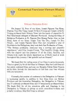 Vietnam Newsletter – August 2018-min