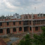 Postulancy Friary construction in Cu Chi reaches third story