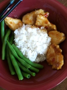 sweet and spicy asian chicken