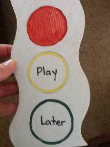 Play Later sign
