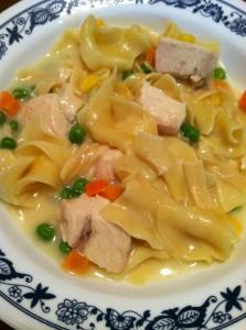 skillet chicken noodles