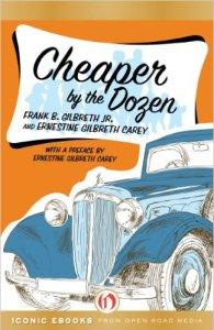 cheaper by the dozen vintage cover