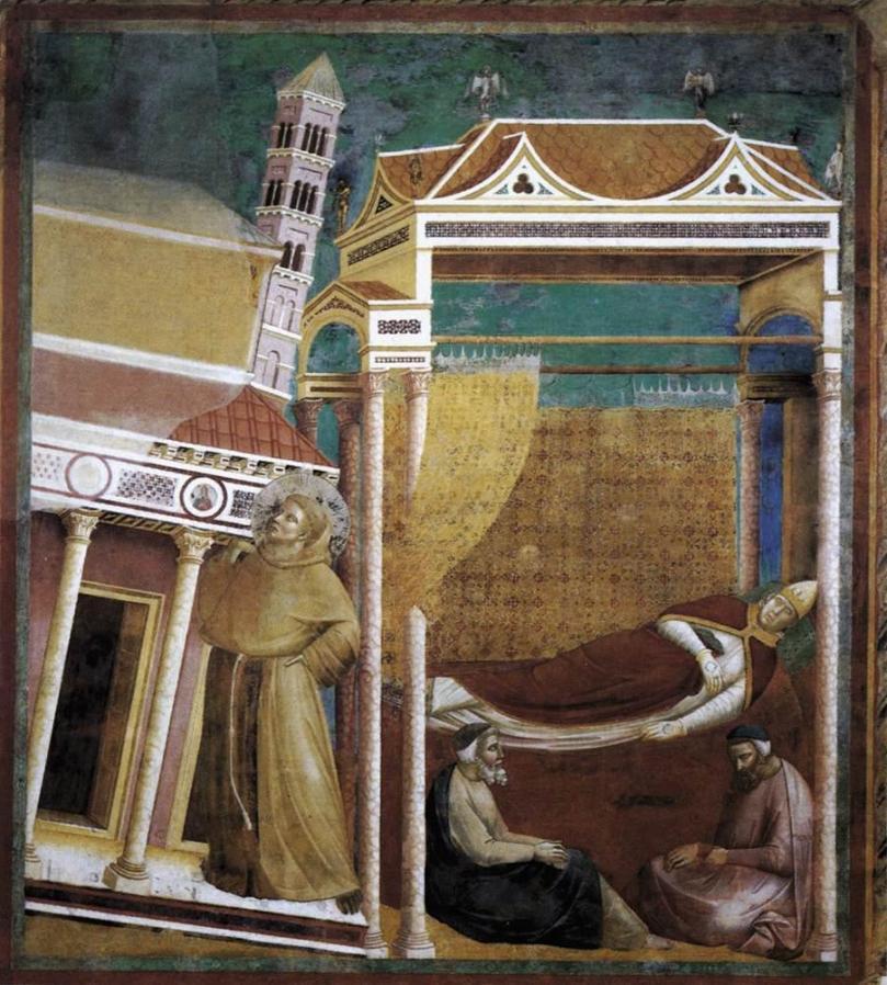 Giotto_di_Bondone_-_Legend_of_St_Francis_-_6._Dream_of_Innocent_III_-_WGA09125