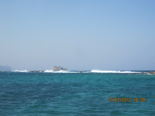 Windy with rough seas