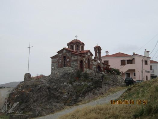 Orthodox Church, Sigri, Greece