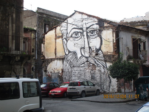 Example of Street Art, Sicily