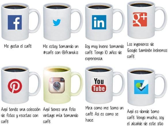 Redes sociales, café para todos