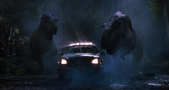 The Lost World - T-rex attack