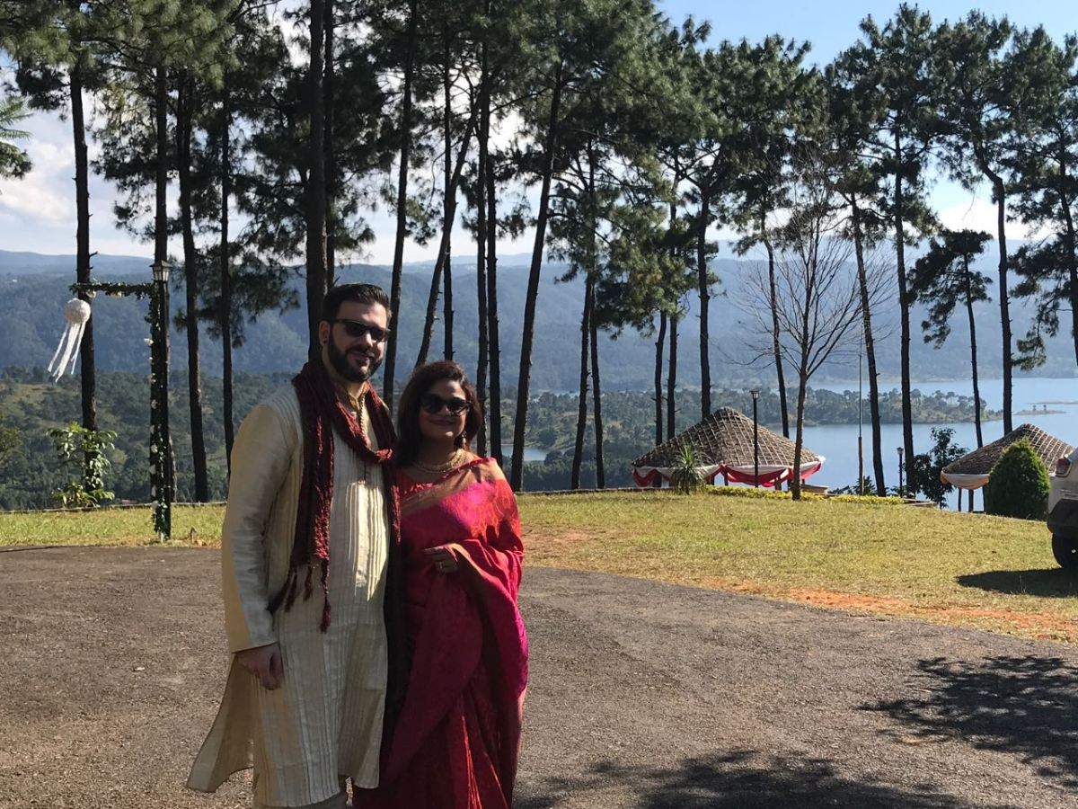 My first visit to India with Aneesha