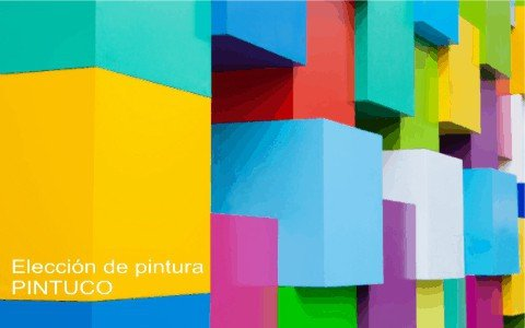 Elección de colores para pintar una casa